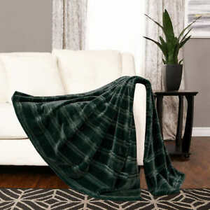 Life Comfort Luxe Velvet Throw (Select Color) * FAST SHIPPING *