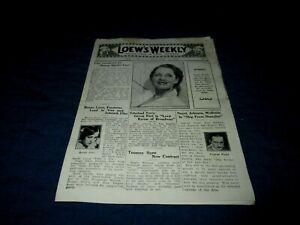 LOEW'S NEW YORK THEATRE-LOEW'S WEEKLY-SEPT 14, 1929-NORMA SHEARER-BESSIE LOVE