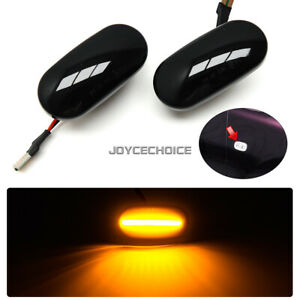 LED Dynamic Marker Light For Civic 92-05 Acura CRX Del Sol Fit Integra S2000 AP1