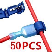 50pcs Quick Electrical Cable Connectors Snap Splice Lock Wire Terminal Crimp
