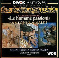 Giuliano Carmignola, - Le Humane Passioni - 5 Violin Concertos [New CD]