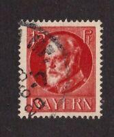 Bavaria stamp #101, used, 1914 - 1920, SCV $28