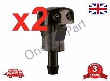 2x Front Windscreen Water Washer Nozzle Spray Jets for Kia