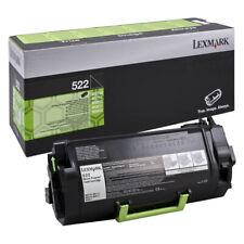 1 x Lexmark 522 Black Original OEM Toner Cartridge MS810, MS811, MS812 - 6K