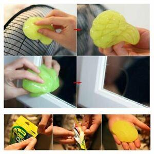 Soft Safe Car Sticky Clean Glue Gum Gel Cleaning Dust Cleaner Microfiber Sponge