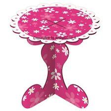 10 of Daisy Design Cardboard SINGLE MINI Cupcake Stand Flat Pack 8cmØ x7cm