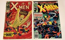 X-MEN #28 & #133 ~ Pair of Silver and Bronze key issues 1967-1980 Marvel Comics