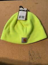 Carhartt Men's High Visibility Color Enhanced  Beanie One Size Brite Lime