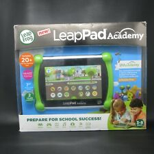 """LeapPad Academy - 7"""" (16GB) Kids Learning Tablet (Green)....NEW open box"""