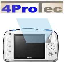 Nikon Coolpix W100 (4x) PROTECTION D'ÉCRAN AR écran de Protecteur displayfolie