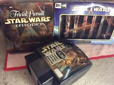 three star wars collectables trivial pursuit double vision puzzle and lunchbox