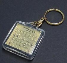 Mega Rare 4D Toto Game Keychain (B301)