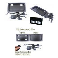 US Electric Stealth License Plate Frame Holder Bracket(USA Standard)+Remote