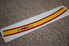Spain Spanish Visor Helmet Sunstrip Sport Racing Motorbike Bike Decal Sticker