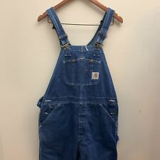 VTG Carhartt Jean Overall Made In USA RO7DST Men's 34x32