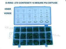 O-RING COMPRESSORE CONDIZIONATORE CLIMATIZZATORE AUTO GAS R134A R410A R22 R12 EC