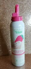 Skinny Tan Strawberry & Cream  Gradual Tanning Pink Whipped Mousse 150ml  New