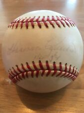 "HARMON KILLEBREW ""HOF 84"" Autographed Signed Official AL Baseball Senators Twins"