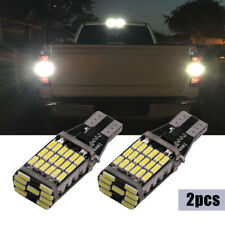 White Led Backup Reverse Lights Bulbs 912 921 For Chevy Silverado 1500 2015 2020