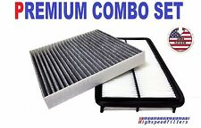 COMBO AIR FILTER + CARBONIZED CABIN AIR FILTER for HONDA ODYSSEY PILOT ACURA MDX