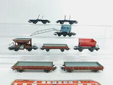 AZ346-1# 7x Märklin H0/AC wagons de marchandises bricoleur DB: 315/1 + 313/1 +