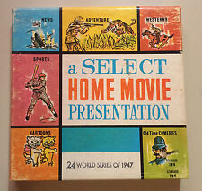 1947 MLB Baseball World Series 8mm Vintage Movie