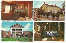 GREAT LOT OF 13 UPPER CANADA VILLAGE, ONTARIO, CANADA CHROME POSTCARDS