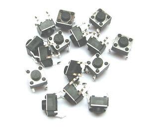10x DIP 2pin Taster  Microtaster 6x6x5mm _ Push Button  2Pin
