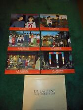 FROM UP ON POPPY HILL - ORIGINAL SET OF 6 FRENCH LOBBY CARDS - 2012 - MIYAZAKI