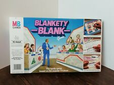 Vintage MB 1983 Blankety Blank Rare Board Game TV Show Rules Complete