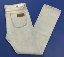April 77 jeans nuovo dictator slim fit 36 tg 52 gamba stretta denim uomo T2310