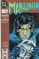 DC Manhunter #18-22 Saints and Sinners Part 1-6(1989,90) Mid and High Grade