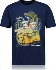 McLaren T-Shirt F1 Greetings From Canda,Australia,Usa Size Large