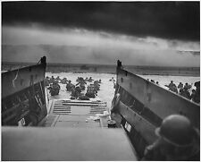 WORLD WAR II D-DAY NORMANDY 8X10 GLOSSY PHOTO PICTURE