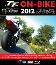 2012 TT Isle of Man On Bike Blu Ray Experience Video Motorcycle Bike