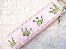 CROWN-LT PINK Key Fobs (really cute keychains)