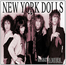 NEW YORK DOLLS 'Manhattan Mayhem' history of; sealed 2xCD Johnny Thunders new