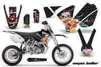 Dirt Bike Decal Graphics Kit Sticker Wrap For KTM SX65 SX 65 2002-2008 VEGAS BLK