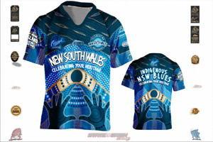 State of Origin - Blues Indigenous Jersey AP61 HANDS NSW