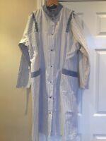 Alexandra Vista  PE35 Nurse Carer Domestic cleaner Dress Blue/green White UK 18