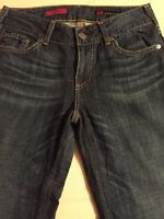 Adriano Goldschmied Women's Jeans The Mona Distressed Flare Size 27 X 31
