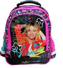 "VIOLETTA Disney School BACKPACK School Bag Rucksack OFFICIALLY LICENSED 15"" NEW!"
