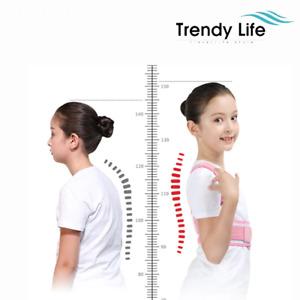 Adjustable Children Posture Corrector Back Support Belt Orthopedic Corset Kids
