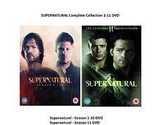 SUPERNATURAL Complete Collection 1-11 DVD Box Set Season 1 2 3 4 5 6 7 8 9 10 11