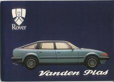 Rover SD1 3500 Vanden Plas 1981-82 Original Handbook In English AKM 5107