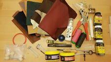 Lederwerkzeug Leder Konvolut Avancorpo Whiskey Lederbearbeitung