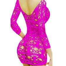 Lingerie-Women-Sexy-Babydoll-Sleepwear-Lace-Nightwear-Underwear-G-string-Chemise