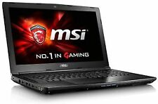 MSI Gl62m 7rdx Gaming Laptop Intel Core I7-7700hq 2.8ghz 8gb RAM 128gb SSD 1