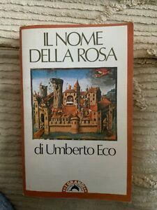 IL NOME DELLA ROSA Eco 1980 i grandi tascabili bompiani
