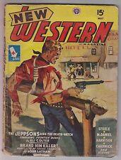 New Western May 1945 Pulp Eli Colter Gunnison Steele Joseph Chadwick Hartsock